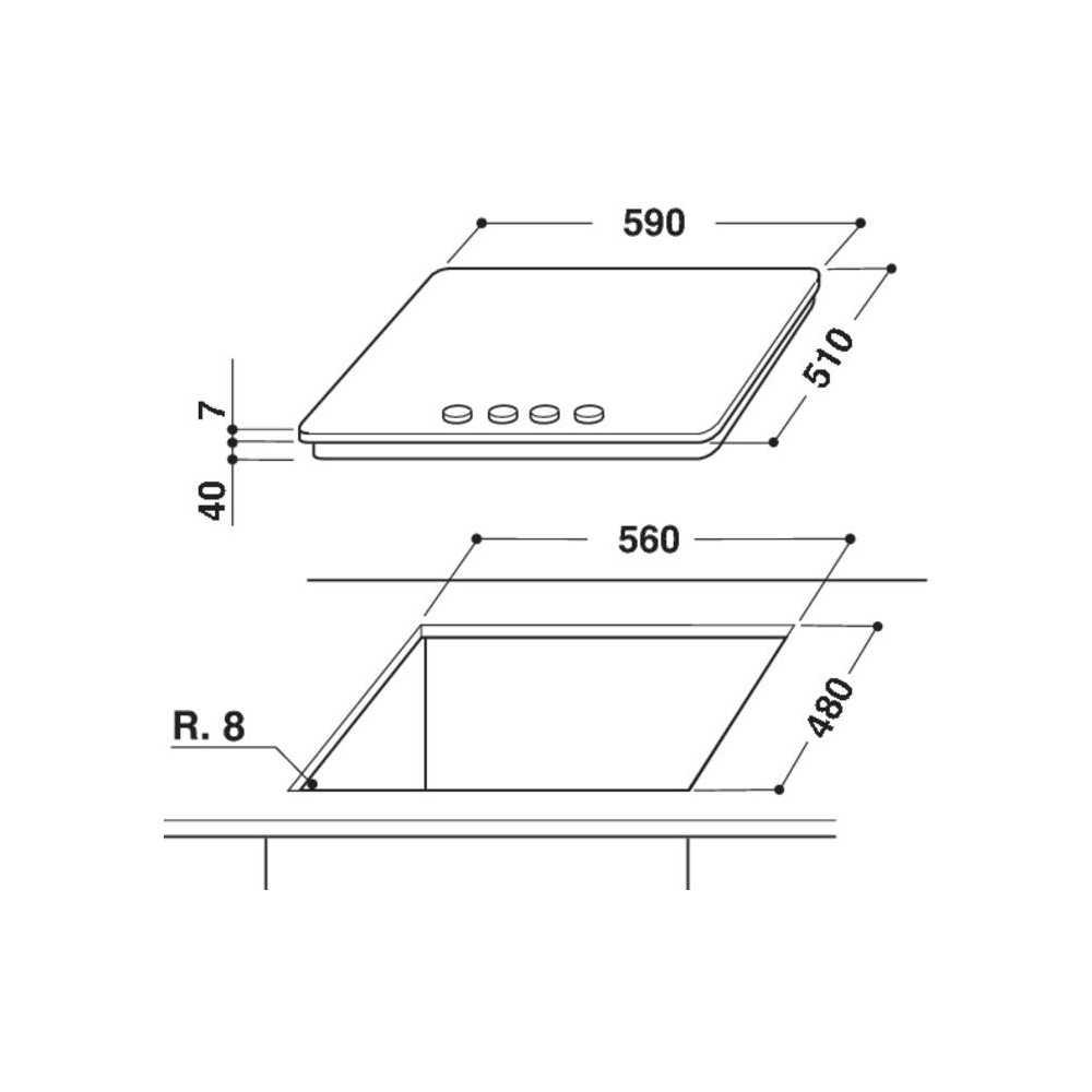 Варочная поверхность Whirlpool GMW6422/IXLEE