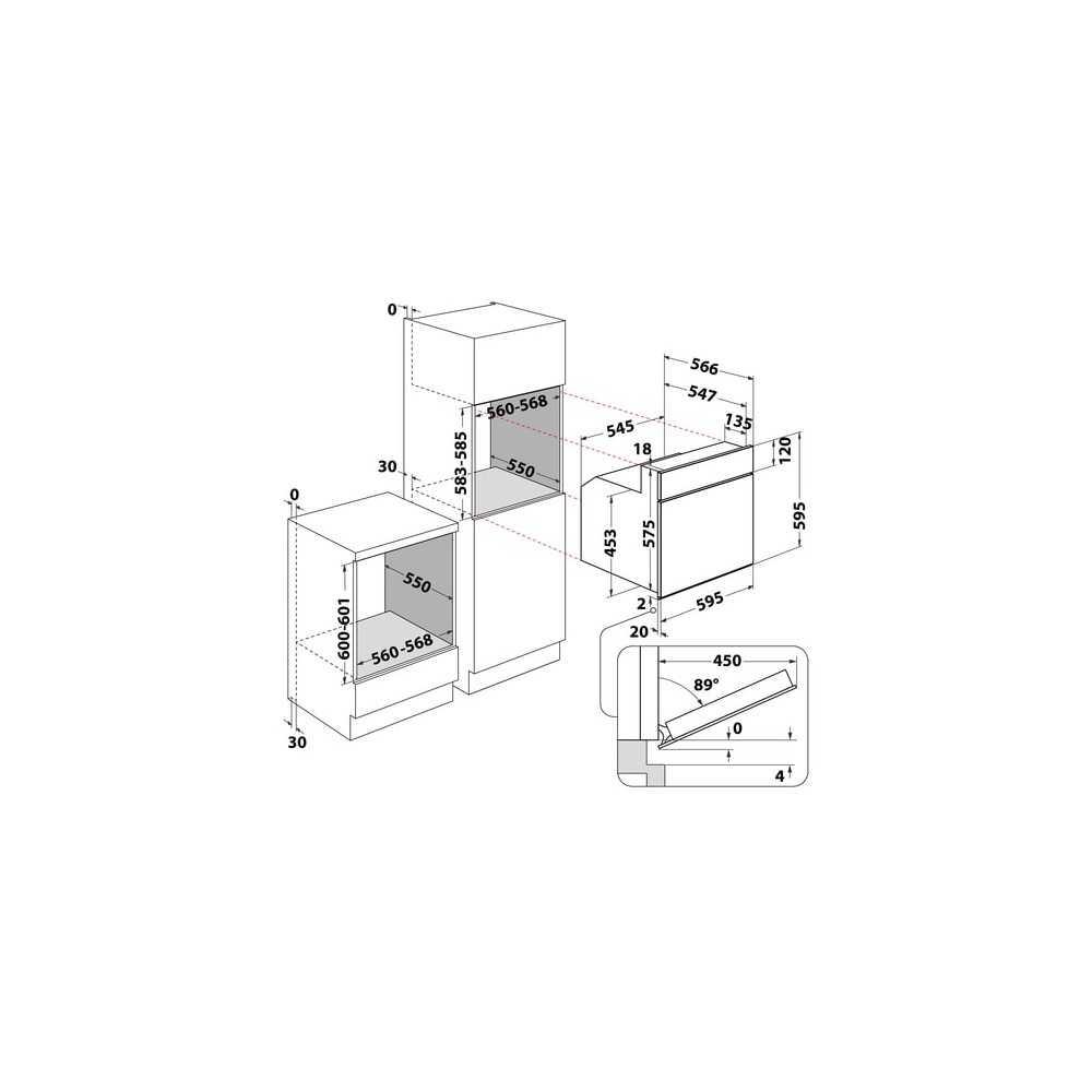 Духовой шкаф электрический WHIRLPOOL AKP 461/NB